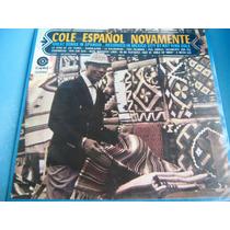 Lp Zerado Nat King Cole Espanol Novamente Stereo 6