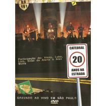 Dvd Catedral 20 Anos Na Estrada Ao Vivo (2008) Lacrado Raro