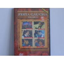 Dvd Festa Gaúcha Vol.1/5. Novo. Original. Lacrado.
