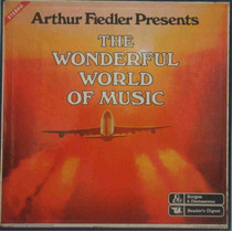 Lps Arthur Fiedler Caixa Com 10 The Wonderful World Of Music