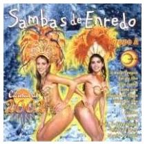 Cd-sambas De Enredo-grupo A - Carnaval 2002