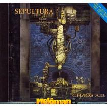 Sepultura 1993 Chaos A.d Cd Autografado Andreas Kisser