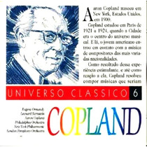 Cd / Copland = Common Man, Hoe Down, Appalachian Spring,