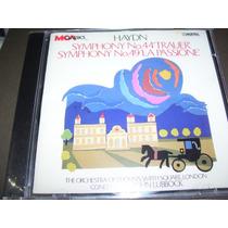 Cd Haydn : Sinfônia N. 44 E 49 Frete 8,00 R$