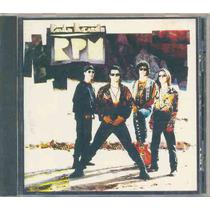 Cd Paulo Ricardo & Rpm - Em Espanhol - 1993