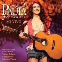 Cd - Paula Fernandes - Ao Vivo - Lacrado