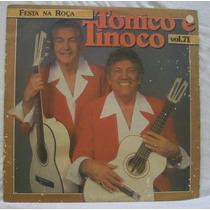 Lp Tonico E Tinoco - Vol 71 - Festa Na Roça - Chantecler - 1