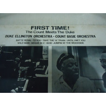 Lp - Duke Ellington And Count Basie / First Time! (aa)