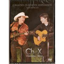 Dvd Chitaozinho E Xororo - Acustico Classicos Sertanejos