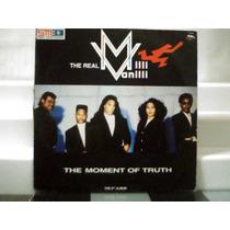 Milli Vanilli The Moment Of Truth Lp Vinil Ariola1991