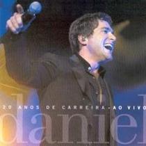 Cd Daniel - 20 Anos De Carreira : Ao Vivo (2003) 17 Músicas