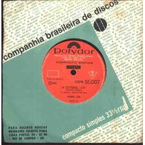Ronnie Von Compacto De Vinil A Catedral - 1967 Mono
