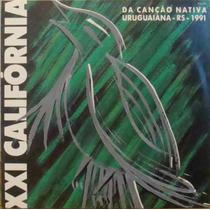 Califórnia Da Canção Nativa Lp 21a. Califórnia 1991