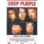 Dvd Nac- Deep Purple -new, Live & Rare Vol 1 E Vol 2