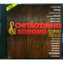 Cd Chitãozinho & Xororó - Agüenta Coração - Impecável - Raro