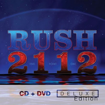 Cd/dvd Rush 2112 (deluxe) =import= Novo Lacrado