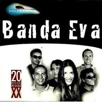 Cd / Banda Eva (c/ Ivete Sangalo) = Millennium - 20 Sucessos