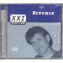 Cd Ritchie - Xxi 21 Grandes Sucessos - Lacrado