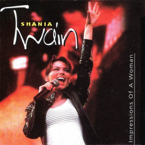Cd Shania Twain Impressions Of A Woman