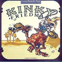 Cd Kinky Friedman Lasso From El Paso