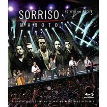 Blu-ray - Sorriso Maroto - Ao Vivo Em Recife - Lacrado !!