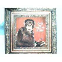 Lp Vinil Talking Heads Naked / Emi 1988 Com Encarte E Poster