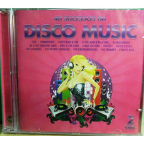 Cd 40 Sucessos Da Disco Music Duplo Original Lacrado