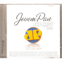 Cd Jovem Pan - Unplugged 2009 - Novo***