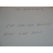 78 Rpm Os Cariocas Cha Cha Baiano / Sinceridade