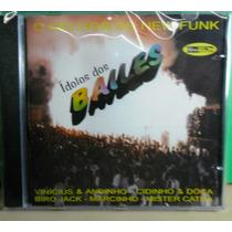 Cd-ídolos Dos Bailes-o Melhor Do New Funk-dj.marlboro