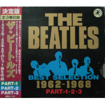 The Beatles Box Com 3 Cds Best Selection 1962 - 1968 Japonês