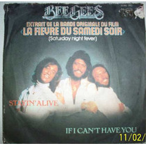 Vinil Compacto Bee Gees - Importado França - Raro - Saturday