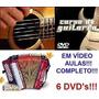 Aulas De Acordeon + Guitarra + Violão Em 6 Dvds