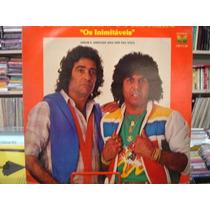 Vinil / Lp - João Mineiro E Marciano - Amor E Amizade - 1984