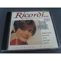 Cd - Rita Pavone - Ricordi... O Melhor Da Música Italiana