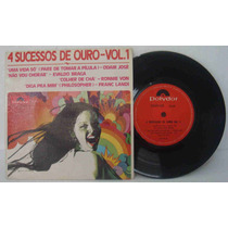 4 Sucessos De Ouro Vol. 1 Compacto Vinil Odair J Ronnie Von