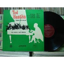 Ted Heath Sua Música Álbum Fats - Lp London Capa Dura Jazz