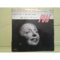 Edith Piaf - Compacto Importado - Non, Je Ne Regrette Rien