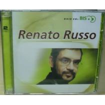 Rock Pop Cd Renato Russo Duplo Serie Bis Lacrado De Fabrica