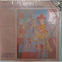 Alberto Boavista - Villa Lobos-obras Para Piano - 1967