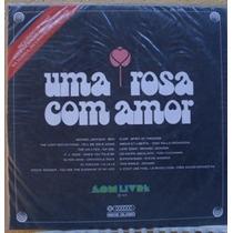 Lp Trilha Sonora Internacional Da Novela Uma Rosa Com Amor