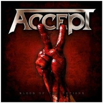 Cd Accept Blood Of The Nations =import= Novo Lacrado