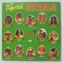 Lp Especial Sertanejo Vol 3 - 1985 - Seta