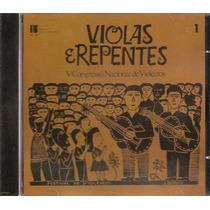 Cd Violas E Repentes Raridade