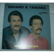 Lp Taviano E Tavares - Verdade Da Vida - 1986