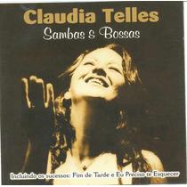 Cd Claudia Telles - Sambas & Bossas