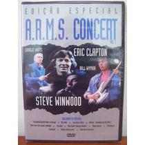 Dvd Arms Concert Vol. 1 Eric Clapton Steve Winwood Rock