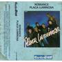 Placa Luminosa Romance K7 Cassete