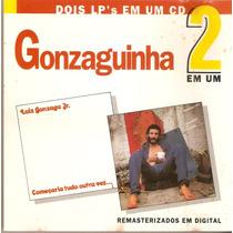 Cd Gonzaguinha - 2 Em 1 - Novo***