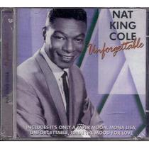 Nat King Cole-cd-unforgettable-lp-inglês-vinil-espanhol